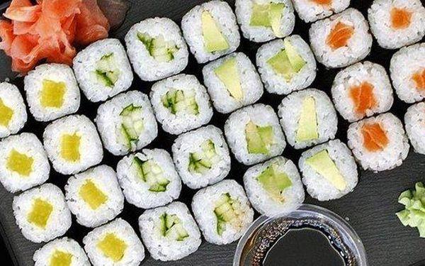 36 lahodného sushi v setu pro dva