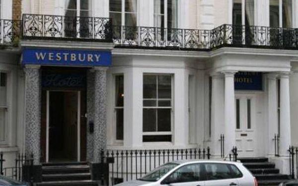 Velká Británie, oblast Londýn, doprava letecky, snídaně, ubytování v 3* hotelu na 4 dny
