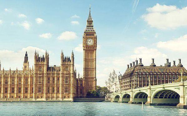 3denní poznávací zájezd do Londýna + nákupy na Oxford Street pro 1 osobu