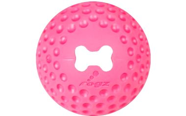 ROGZ GUMZ míček růžový 4,9 cm