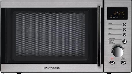 Mikrovlnná trouba Daewoo KOR 8B4R, nerez