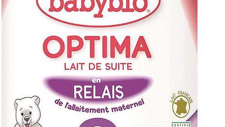 BABYBIO Optima 2 pokračovací mléčná kojenecká výživa v prášku