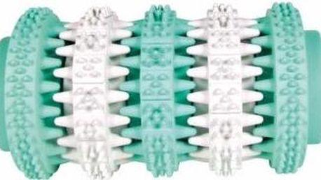 Trixie hračka Dentafun kost s mátou zeleno/bílá 11 cm