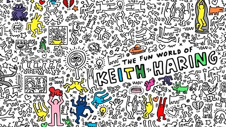 Omalovánka Keith Haring XXL (180 x 100 cm)