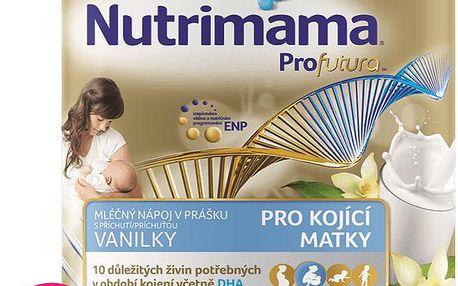 Nutrilon NUTRIMAMA mléčný nápoj v prášku s Vanilkovou příchutí (3x 400g)