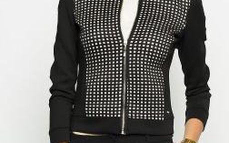 Answear - Mikina Black & White - černá, M