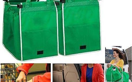 Taška na nákupy do nákupního vozíku pro pohodlné skládání zboží