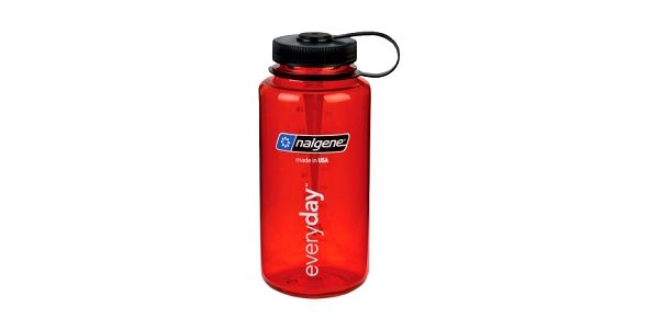 NALGENE Wide Mouth 1000 ml red láhev na vodu
