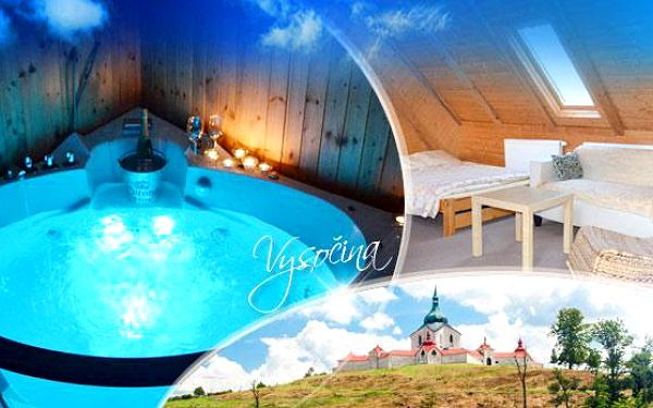 Vysočina s wellness na 3, 4 či 5 dní pro 2 osoby! V ceně polopenze, vířivka, sauna a masáž! Nedaleko aquapark!