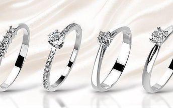 Překrásné zásnubní prsteny s brilianty