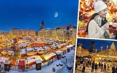 Adventní Drážďany 2015 - udělejte si výlet luxusním autobusem na jedny z nejkrásnějších adventních trhů v Německu! Na výběr máte z mnoha pátečních i sobotních listopadových a prosincových termínů! Buďte součástí již 580. ročníku drážďanských trhů!