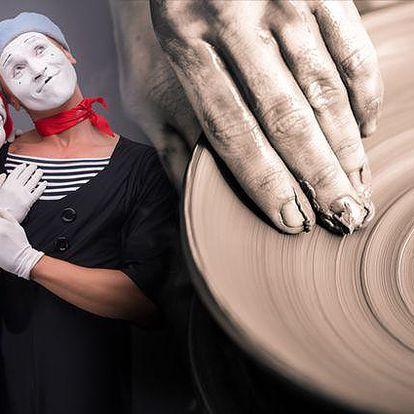 Lekce keramiky, výtvarných variací nebo improvizace v Praze