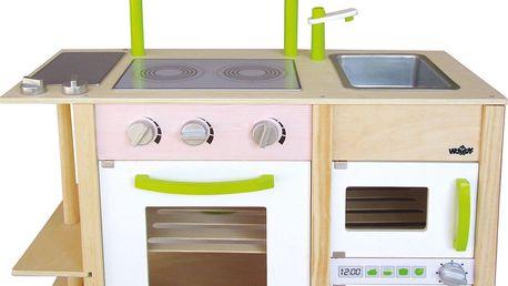 Oboustranná kuchyňka Woody Inke, dřevěná