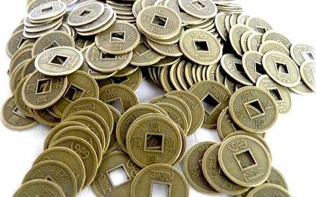 Čínská mince pro štěstí!