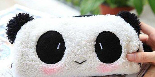 Penál v podobě pandy