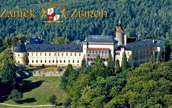 Luxusní 3denní wellness pobyt na zámku v Chateau hotelu Zbiroh*****