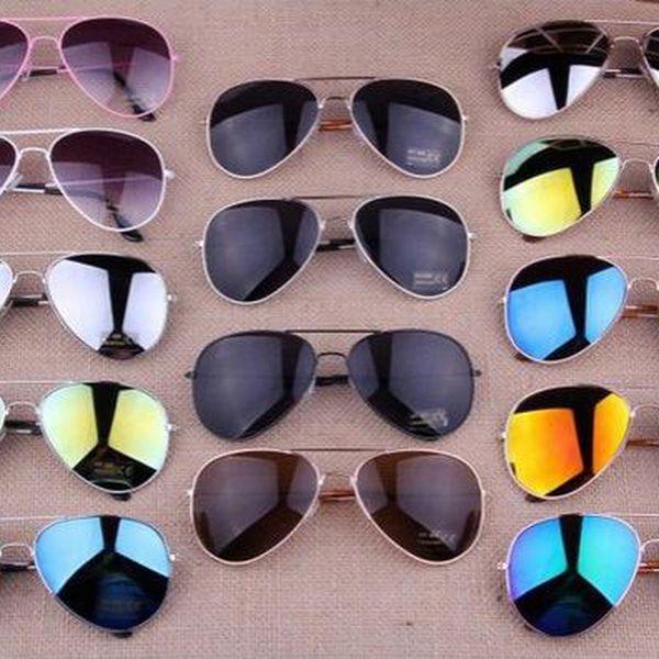 Sluneční brýle pilotky!