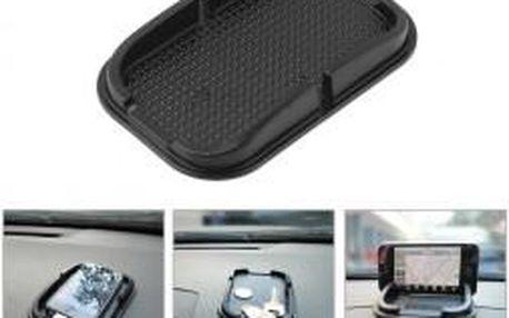 Extra přiléhavá, protiskluzová podložka pro palubní desku Vašeho auta s držákem na telefon nebo navigaci.