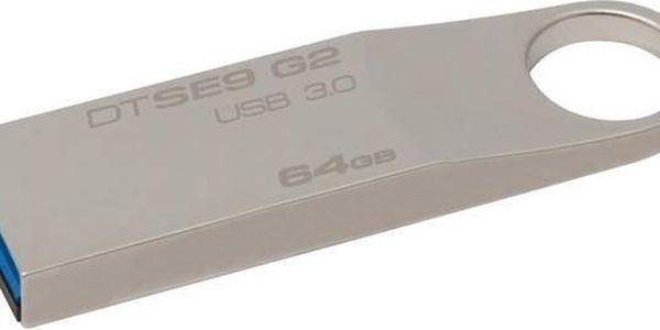 Kingston DataTraveler SE9 G2 64GB (DTSE9G2/64GB) kovový + Doprava zdarma