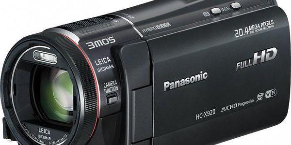 Full HD kamera Panasonic HC-X920EP-K ROZBALENO