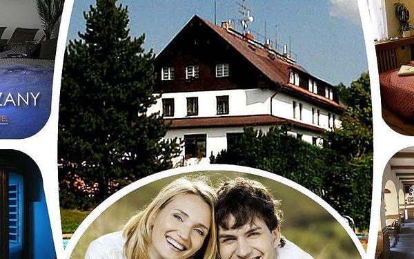 3 denní energy-relax pobyt pro dva s polopenzí v hotelu Hrazany. Polopenze a wellness procedury.