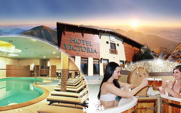 Slovensko, Hotel Victoria**** na 3 až 5 dní pro dva s polopenzí a neomezeným wellness. Termíny i na silvestra!