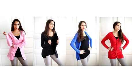 Dámský propínací svetr