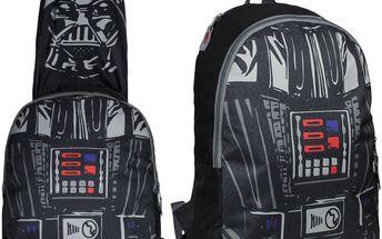 Chlapecký batoh s kapucí Star Wars - černý