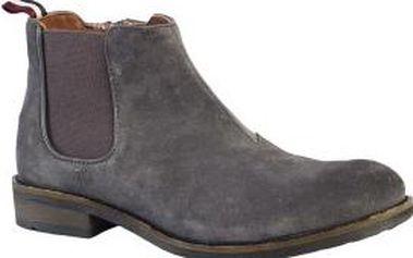 HILFIGER DENIM - Kotníkové boty Darren - šedá, 44