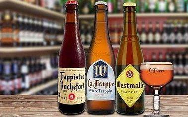 Sada piv vařená mnichy v trapistických…