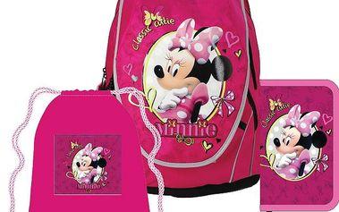 Anatomický školní SET ABB batoh Disney Minnie