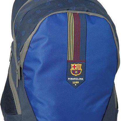 Velký studentský batoh Barcelona modrý