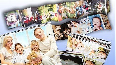 Foto kalendáře dle výběru či leporelo z vlastních fotografií s doručením v ceně