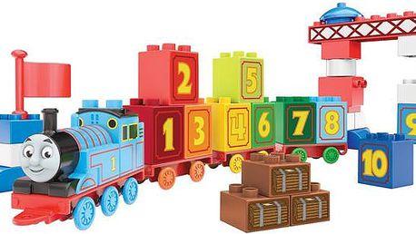 Mega Bloks mašinka Tomáš 123 naučný vláček