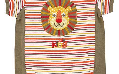 Chlapecký overal s lvíčkem - khaki