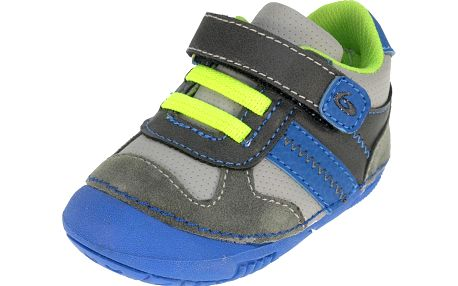 Chlapecké tenisky - šedo-modré
