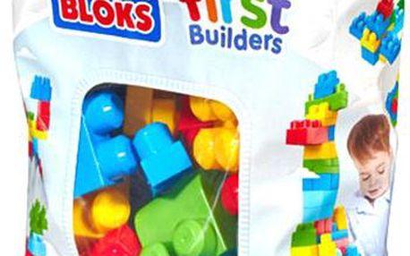 Mega Bloks Kostky v plastovém pytli, pro kluky, 60 dílků