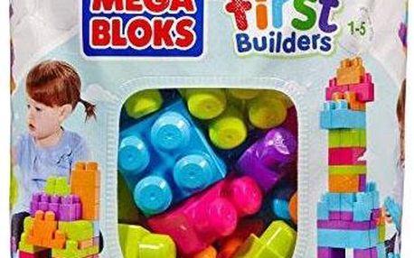 Mega Bloks Kostky v plastovém pytli, 60 dílů