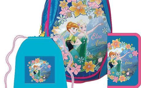 Anatomický školní SET ABB batoh Disney Frozen (Ledové království)