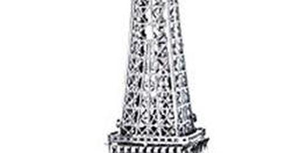 Sestavte si kovový model jednoho z 5 monumentů!