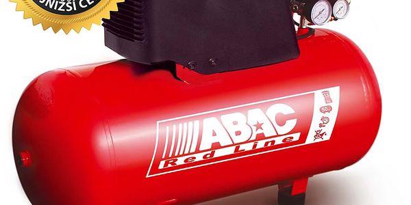 ABAC Pístový bezolejový kompresor OM195-1,1-24CM