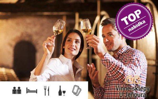 Dovolená na jižní Moravě s bohatou polopenzí a konzumací vína a nápojů