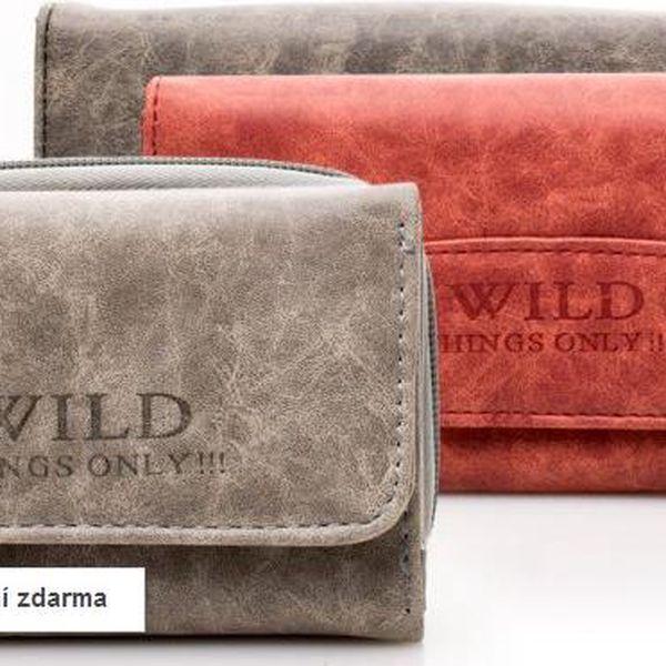 Dámské peněženky Wild z eko kůže