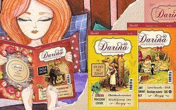 Předplatné vintage časopisu Darina
