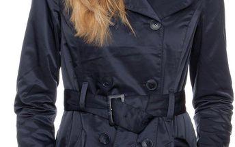 Dámský kabát s.Oliver, tmavě modrý