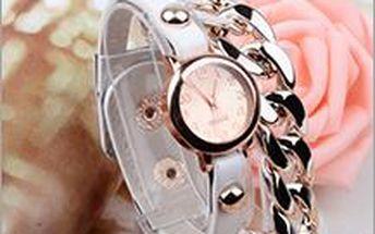 Dámské hodinky s řetízkem