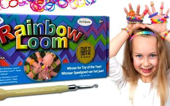 Original Rainbow Loom včetně stavu a 600…