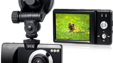 Záznamová onboard kamera do auta s nočním viděním