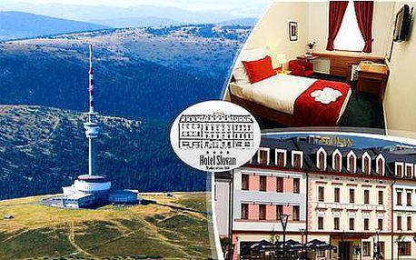 Relaxační pobyt v prestižním Hotelu Slovan**** pro 2 osoby s polopenzí + děti do 3 let ZDARMA