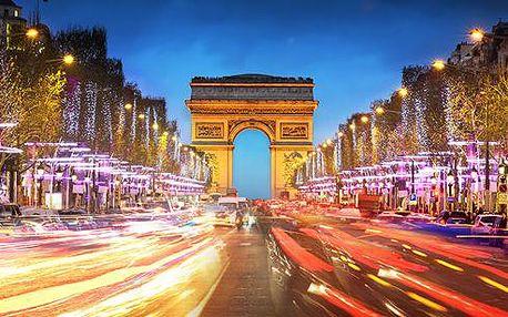 4 dny v Paříži a Versailles s projížďkou po Seině